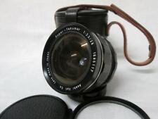 Asahi Pentax Super-Takumar 1:3.5/28mm M42 Lens + Caps, Filter & Case