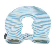 PVC Nacken Wärmflasche Fleece Bezug Wärmekissen Nackenwärmer Bettflasche - Blau