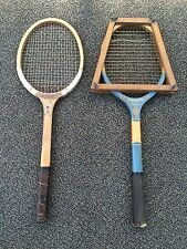 lot of 2 Vintage Wood Tennis Racquets 1) SPALDING SUPERBA and 1) MAGNET BRAND?