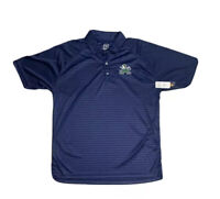 Notre Dame Fighting Irish Pro Edge Coaches Polo Shirt Size Men's Large
