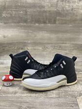 Nike Air Jordan Retro 12 XII Playoffs 11.5 WHITE BLACK VARSITY RED 130690-001