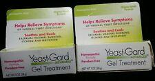 New listing 2 Yeast Gard ADVANCED GEL TREATMENT Formula Vaginal Yeast 1oz/28g Ea *EXP01/2020