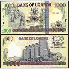 UGANDA  1000 Shillings 2005 UNC P 43 a