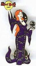 Hard Rock Cafe KUALA LUMPUR 2002 HALLOWEEN PIN Robed Girl w/Skull - HRC #14755