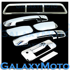 07-13 TOYOTA TUNDRA DOUBLE CAB Chrome 4 Door Handle+Tailgate+3rd Brake Cover