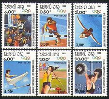 Laos 1983 Olympics/Sports/Games/Basketball 6v (b8609f)