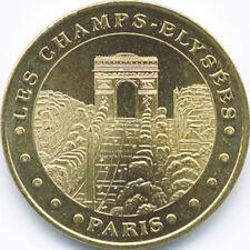 75008 PARIS LES CHAMPS-ELYSÉES MÉDAILLE MONNAIE DE PARIS 2018 JETON MEDALS COINS