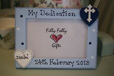 Personalised Photo Frame by Filly Folly! Christening Dedication Baptism Gift!