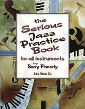 Partition+CD - Barry Finnerty - The Serious Jazz Practice Book