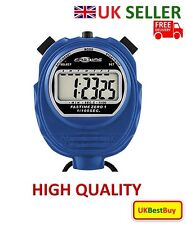 Brand New High Quality Fastime 01 Pro Sports Stopwatch Blue Colour - UK SELLER