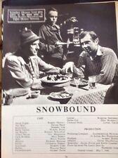 M3-1 Ephemera 1949 Picture Article Film Snowbound Robert Newton Dennis Price