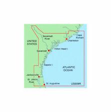 GARMIN BLUECHART DATA CARD MUS008R CHARLESTON - JACKSONVILLE - GPS CHART MAP