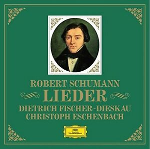 SCHUMANN. Lieder. Dietrich FISCHER-DIESKAU & Christoph ESCHENBACH. 6 CDs DG Neuf