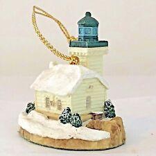Harbour Lights Christmas Ornament Burrows Island Washington Lighthouse Nos 1996