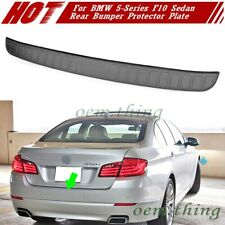 For BMW 5-Series F10 4DR Rear Bumper Protector Scratch Guard Trim 528i 2016
