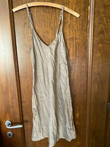 Intimissimi gray SILK Nightdress sleepwear nightgown size M