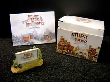 Lilliput Lane Sign Of The Times From American Landmarks Nib & Signed - Ray Day