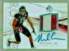 2014 Upper Deck SP Authentic Mike Evans Auto 2 Color Jersey Rc Serial # 243/350