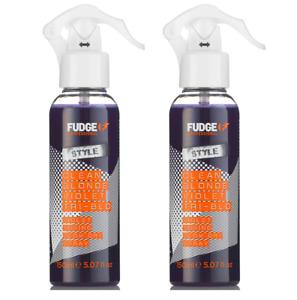 2 x Fudge Clean Blonde Violet Tri-Blo Spray 150ml Each