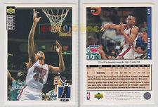 NBA UPPER DECK 1994 COLLECTOR'S CHOICE - P.J. Brown # 74 Ita/Eng MINT