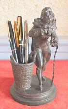 sculpture style Empire porte crayons époque 1900