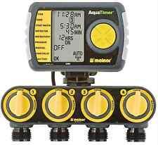 4-Zone Programmable Garden Watering Irrigation Lawn Sprinkler Hose Timers System
