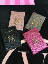 1 P Blingbling Victoria's Passport Holder VS Travel Passport Cover rose pink