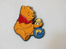 Winnie the Pooh with Honey Pot Disney Pin Badge