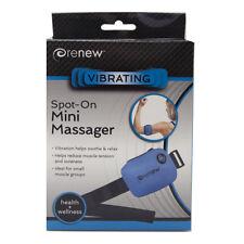 Renew Spot On Mini Massager- 2 Levels of Therapeutic Vibration