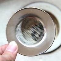 Floor Sink Filter Kitchen Strainer Basket Drain Steel Waste Plug Accessories