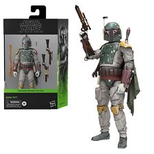 "Star Wars Black Series Boba Fett Deluxe ROTJ 6"" Action Figure NIB - In Stock"