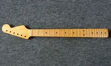 50's style ST str*t electric guitar neck, maple fingerboard 8mm holes heel truss