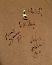 90's Pawn Aggressive Inline T-shirt W/ Multiple Signatures , Arlo Eisenberg.
