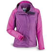 Columbia Gotcha Groovin Hooded Winter Jacket Iris Glow/Bright Plum Size XLarge