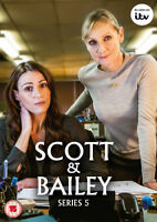 Scott and Bailey: Series 5 DVD (2016) Suranne Jones cert 15 ***NEW***