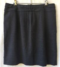 Basque City Size 14 Skirt NEW Short Black Fleck Corporate Work Career Office