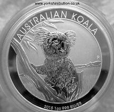 1oz Australian Silver Koala 2015