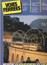 VOIES FERREES N° 52 X 2400 / MAT MOTEUR SNCF 1989 / BLANC-ARGENT / CC 65000 / Z2