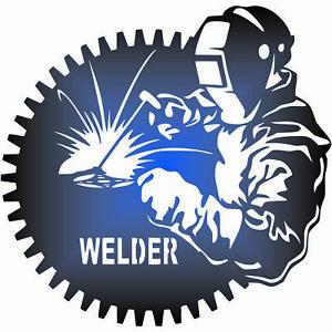 Welder Dxf of PLASMA Laser Cut - CNC Vector DXF-CDR - AI