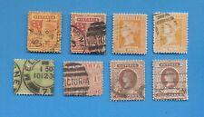 Victoria Australia - scott 171 / 179 - 1890-1897