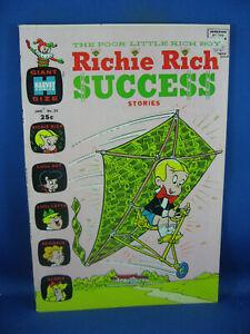 RICHIE RICH SUCCESS STORIES 23 VF+ 1969 HARVEY LITTLE LOTTA DOT