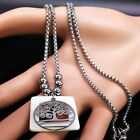 Women's Tree Life Long Necklace Fashion Bohemian Stainless Steel Party Jewelry