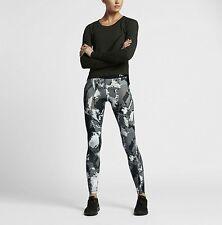 Nike Pro Hyperwarm Women's  Printed Training Tights - New 811092 010 Sz L