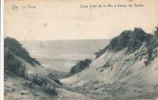 CPA - Belgique - De Panne - La Panne - Coup d'oeil de la Mer à travers les Dunes