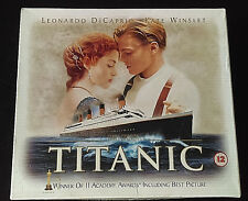 James Cameron TITANIC VHS Video Set 35mm Film Cell Photo Cards LIMITED EDITION