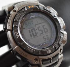 Casio Pathfinder PAG-240T (3246) Triple-Sensor Titanium Watch JAPAN VERSION!