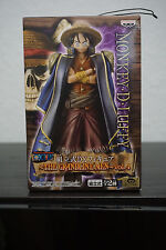One Piece Grandline men Vol 4 Luffy Blue coat