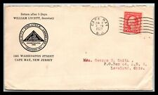 GP GOLDPATH: US COVER 1927, CAPE MAY, NJ. _CV307_P02