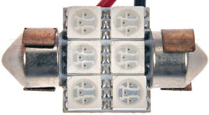 Dorman 3175A-SMD 3175 Amber 5050SMD 6 LED bulb