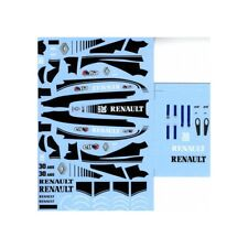 F'artefice 1:43 Decals for Renault F1 R26 30th Anniversary